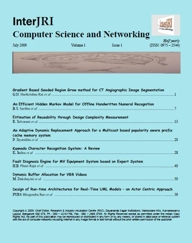 Chief Editor, InterJRI Computer Science and Networking